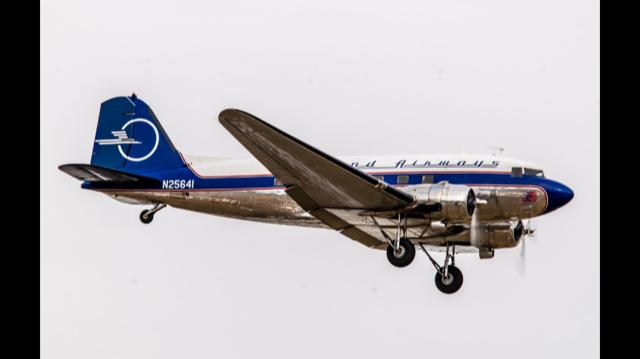 C-47-DL Skytrain 42-32833 – Legend Airways Liberty; Photo via Legend Airways Foundation