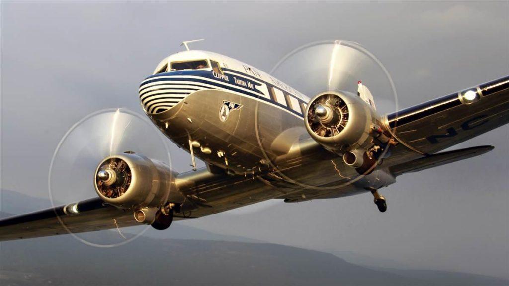 C-47B-50-DK 45-1108 – Clipper Tabitha May; Photo via PMDG Flight Operations
