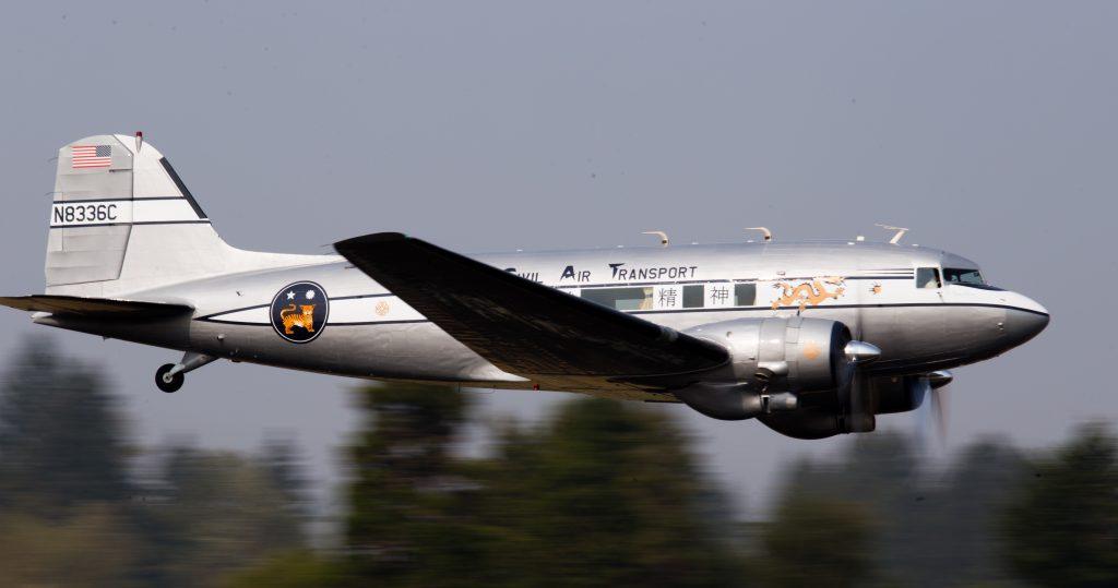C-53-DO Skytrooper 42-47371 – Spirit of Benovia; Photo via Benovia Winery