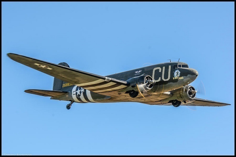 C-53-DO Skytrooper 42-68830 – D-Day Doll; Photo via CAF's Inland Empire Wing