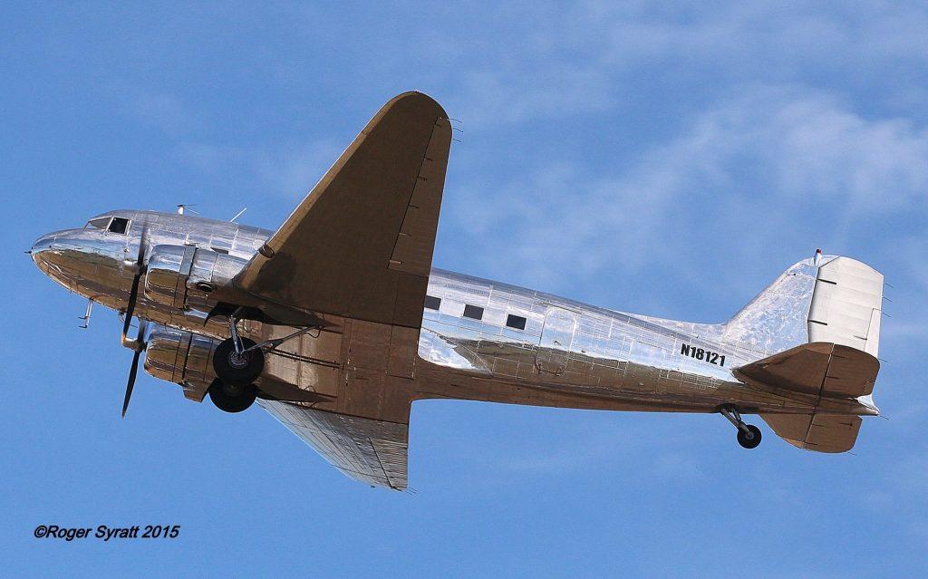 DC-3-201 N18121; Photo by Roger Syratt via Paul Bazely