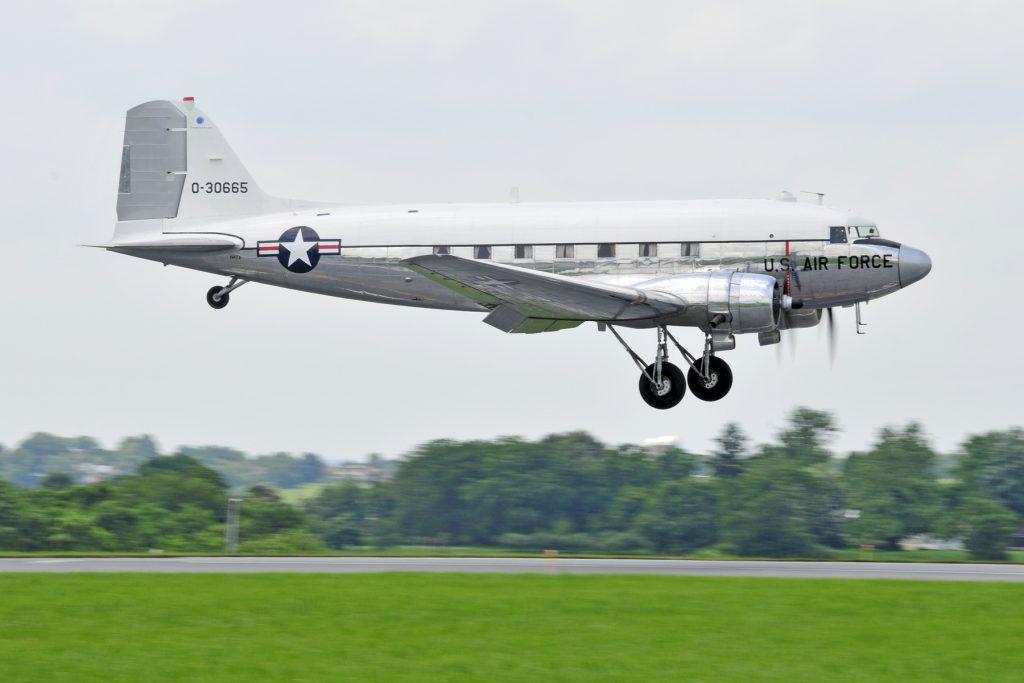 C-47A-60-DL 43-30665 – Miss Virginia; Photo via Dynamic Aviation