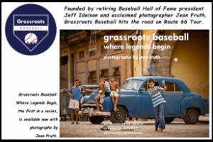 Jean Fruth, one of today's pre-eminent baseball photographers, and retiring National Baseball Hall of Fame and Museum president, Jeff Idelson, announced the launch of Grassroots Baseball