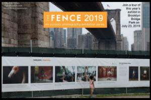 THE FENCE 8th Edition on view from June 22 through September 2019 in Brooklyn Bridge Park and throughout Dumbo in Brooklyn, New York