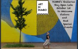 Art in DUMBO today announced DUMBO's First Thursday Gallery Walk will take place from October 1st from 6 to 9 pm, featuring exhibition openings and other special events