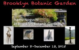 Brooklyn Botanic Garden is celebrating the 100th anniversary of its iconic Japanese Hill-and-Pond Garden, with a special installation of Isamu Noguchi at Brooklyn Botanic Garden from September 8–December 13, 2015.