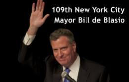 109th New York City Mayor Bill de Blasio ©Mark D Phillips