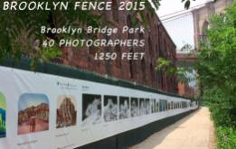 The 1250ft Photo Exhibition, THE FENCE, has been installed along the Greenway of the picturesque Brooklyn Bridge Park for it's 4th year and is projected to attract over 1.5 million visitors this summer!