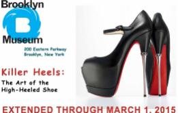 "The Brooklyn Museum's lovefest of the provocative footwear which dominates the New York City fashion scene, and the women of ""Sex in the City,"" is presented as artwork in the new exhibit ""Killer Heels: The Art of the High-Heeled Shoe"""