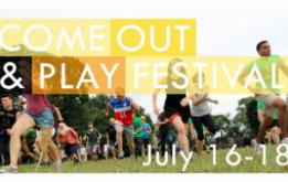 Come Out & Play brings play back to the real-world with regular events and an annual festival showcasing the best new street and live-action games from around the world with events in DUMBO, Governors Island, Metrotech, NYU and Kickstarter.