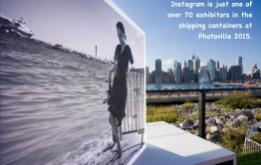 Photoville, on the waterfront in Brooklyn Bridge Park has become the premier photography event in the United States. ©Mark D Phillips