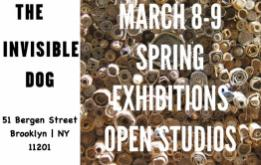Annual Open House and Spring Exhibitions Opening at the Invisible Dog featured on The South Brooklyn Network.