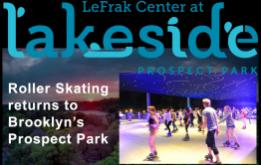 Starting this weekend, Lakeside roller skating season is officially open at the Lefrak Center in Prospect Park.