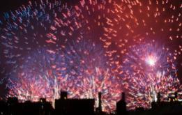 Macy's Fireworks celebrate 240 Years of Freedom ©Mark D Phillips