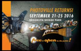 Photoville, Brooklyn's premier Photography event, turns FIVE this year and moves to an amazing new location in Brooklyn Bridge Park, directly underneath the iconic Brooklyn Bridge from September 21 to 25, 2016.