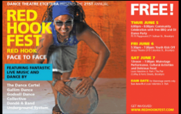 Dance Theatre Etcetera Presents the 21st Annual Red Hook Fest from Thursday, June 5, 2014 to Saturday, June 7, 2014 with Live Music & Dance on the Beautiful Brooklyn Waterfront.