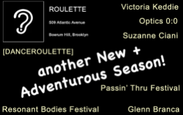 Roulette in Boerum Hill announces its programming for Fall 2016 which includes the premiere of new work from Glenn Branca
