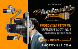 PHOTOVILLE will be returning to its premiere location along the New York waterfront from September 10-20, 2015