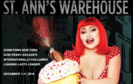 St. Ann's Warehouse welcomes Penny Arcade, legendary downtown New York writer, performance artist, actress and force for artistic resistance, for the American Premiere of her internationally acclaimed Longing Lasts Longer, December 1-11, 2016.