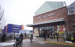 Whole Foods opens at Third and Third in Gowanus, Brooklyn. ©Mark D Phillips