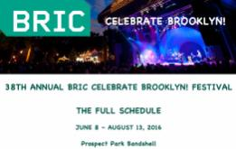 The BRIC Celebrate Brooklyn! Festival has presented celebrated global music icons, legendary jazz, indie bands, dance troupes, FREE in Prospect Park.
