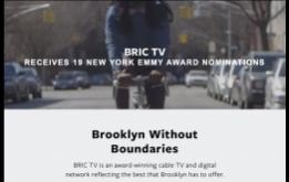 BRIC, the leading presenter of free cultural programming in Brooklyn, received 19 nominations for the 60th Annual New York Emmy® Awards.