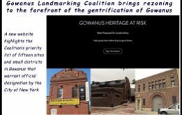 Gowanus Landmarking Coalition Launches Website Ahead of Rezoning