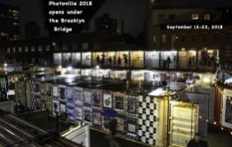 The seventh edition of Photoville officially opens to the public today, September 13, 2018