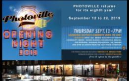 PHOTOVILLE returns for its eighth year from September 12-22, 2019, transforming picturesque Brooklyn Bridge Plaza in DUMBO beneath the majestic span of the Brooklyn Bridge into an immersive photography village populated by 90+ shipping containers repurposed into galleries.