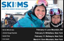 Ski for MS combines skiing and fundraising to empower people with MS with stops at four of our favorite ski areas in the northeast hitting the slopes of Loon Mountain in New Hampshire (Feb. 4), Whiteface Mountain (Feb. 5), Belleayre Mountain (Feb. 11) and Gore Mountain (March 4) in New York.