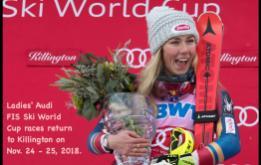 Can Mikaela Shiffrin three-peat in slalom at the FIS Ladies Ski World Cup at Killington?