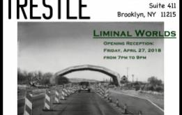 Trestle Gallery presents Liminal Worlds with work by Ashley Hope, Elizabeth Insogna, Anne Polashenski and Greg Thielker through  June 6, 2018.