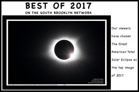 Great American Eclipse wins viewers' vote as top image of 2017