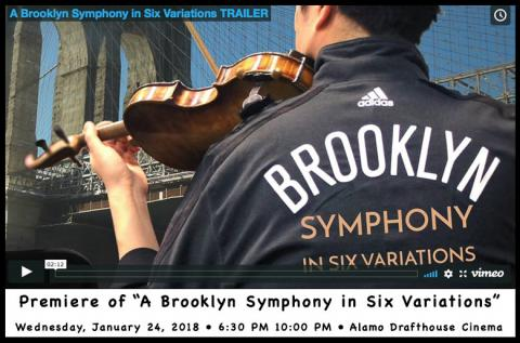 Premiere of A Brooklyn Symphony in Six Variations