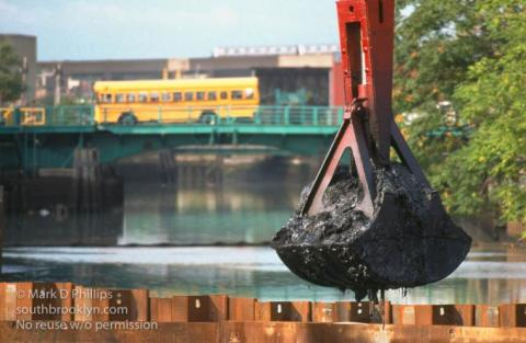 An attempt to clean the Gowanus Canal in the 90s failed, but now the Superfund cleanup is underway in 2016.