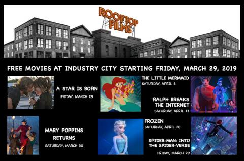 Rooftop Films is back in Sunset Park, celebrating and exploring film, music, and art as part of Friday Nights at IC beginning March 29, 2019, and FREE Sunset Park Kids' Cinema Club on Saturday's beginning Saturday, March 30, 2019