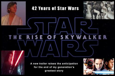 The Rise of Skywalker and my anticipation grows!