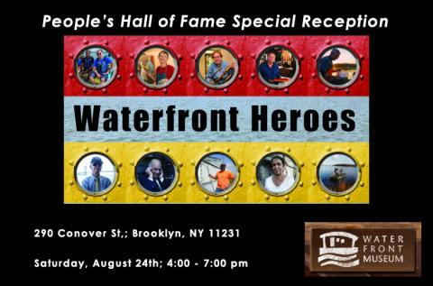 14th People's Hall of Fame Awards Ceremony at the Waterfront Museum in Red Hook